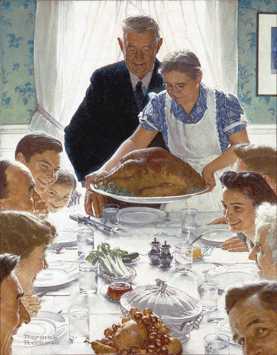 Freedom from Want, Norman Rockwell, 1943